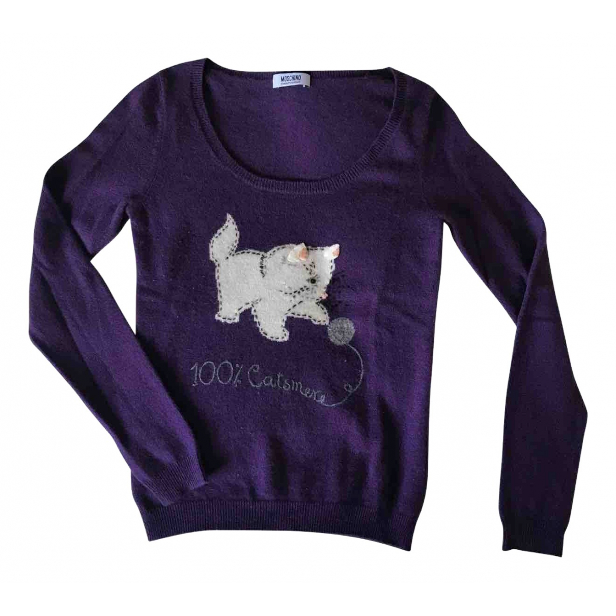 Moschino Cheap And Chic \N Purple Cashmere Knitwear for Women 40 IT