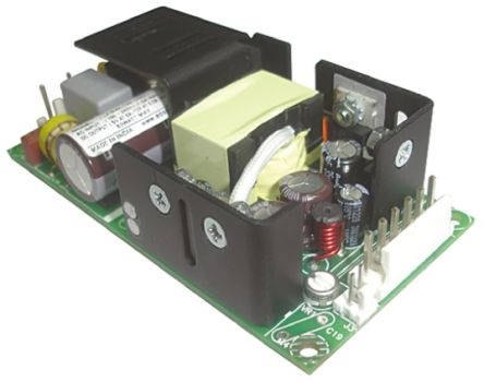 EOS , 40W Embedded Switch Mode Power Supply SMPS, 5.2 V dc, 12.5 V dc, Open Frame