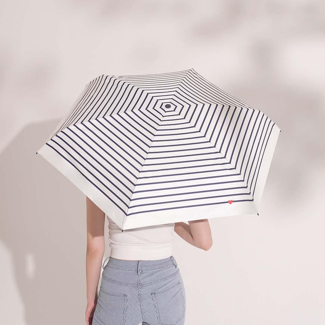 Five Folding Sun Umbrella Ultra Light Weight Windproof Sunscreen and Rainproof Ultra-short Storage