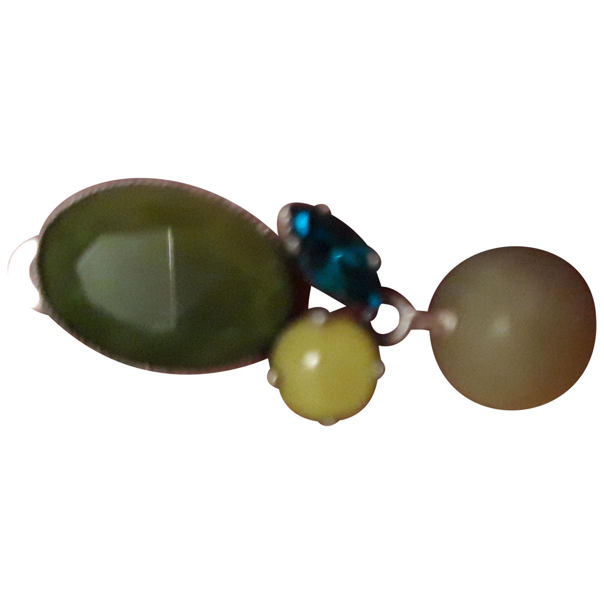 Philippe Ferrandis N Green Earrings for Women N