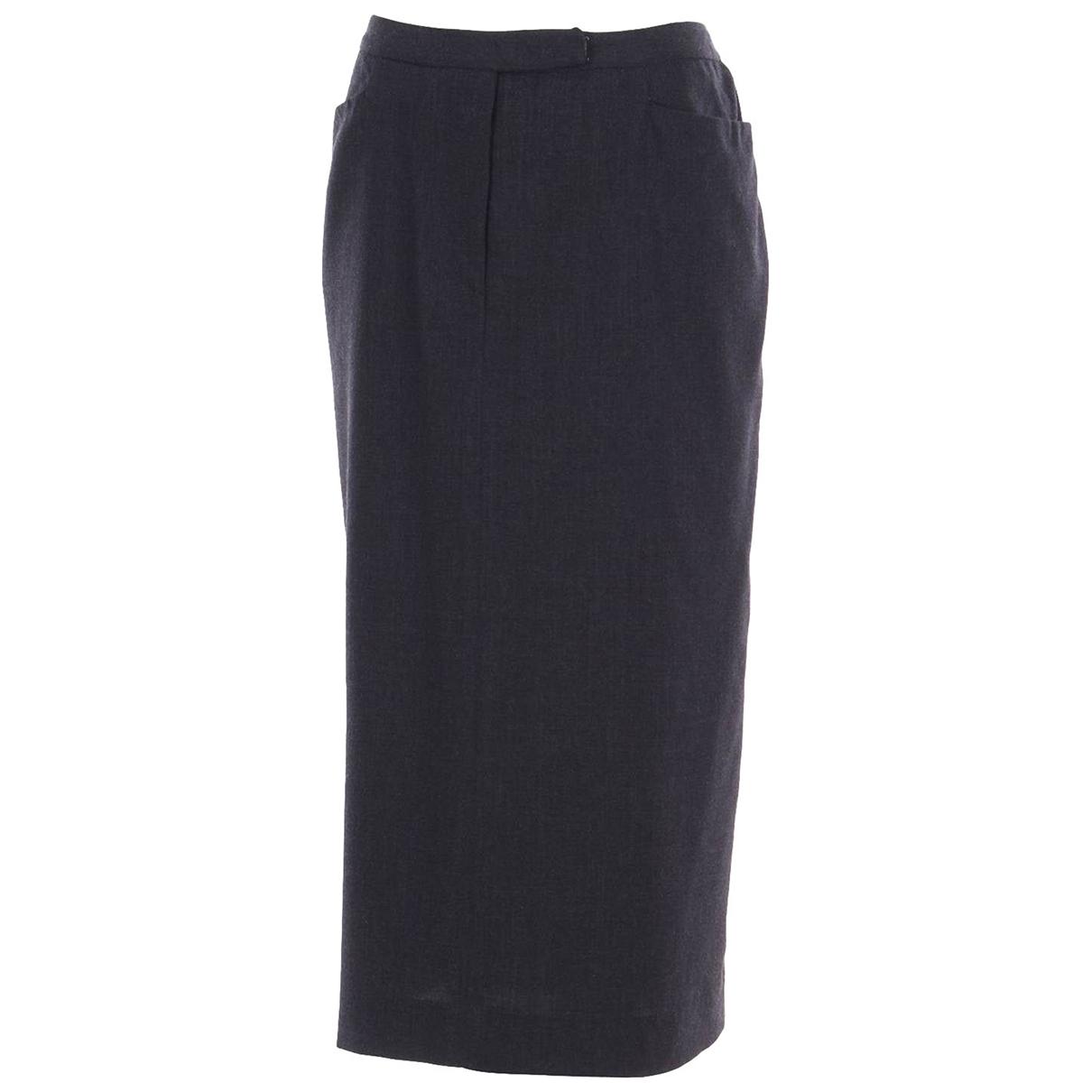 Lauren Ralph Lauren \N Grey Wool skirt for Women 14 UK