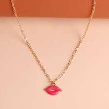 Lip Charm Necklace