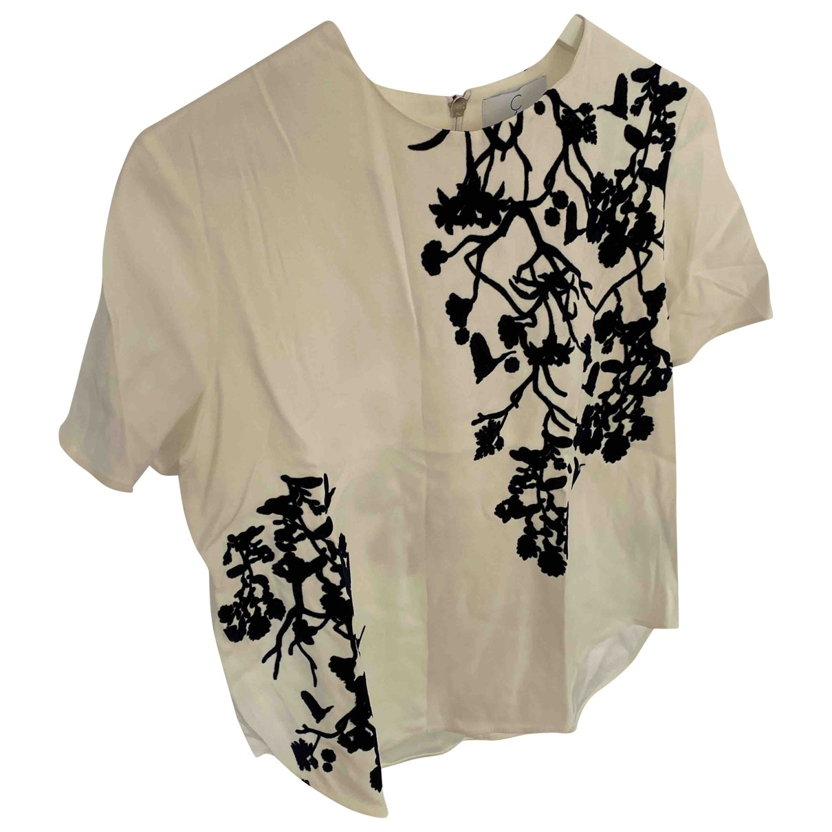 Faconnable \N White  top for Women 38 FR