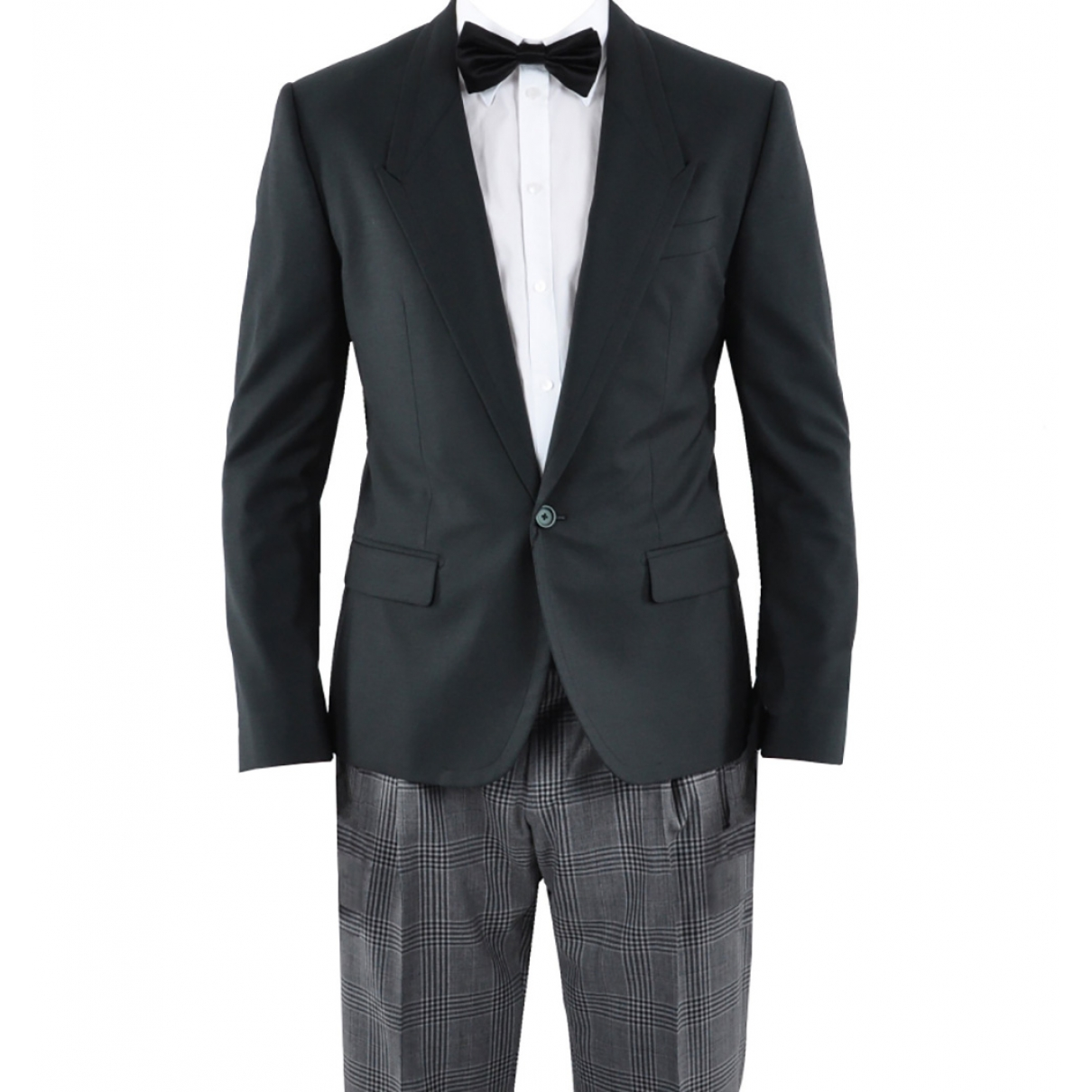 Dolce & Gabbana \N Black Wool Suits for Men 52 IT