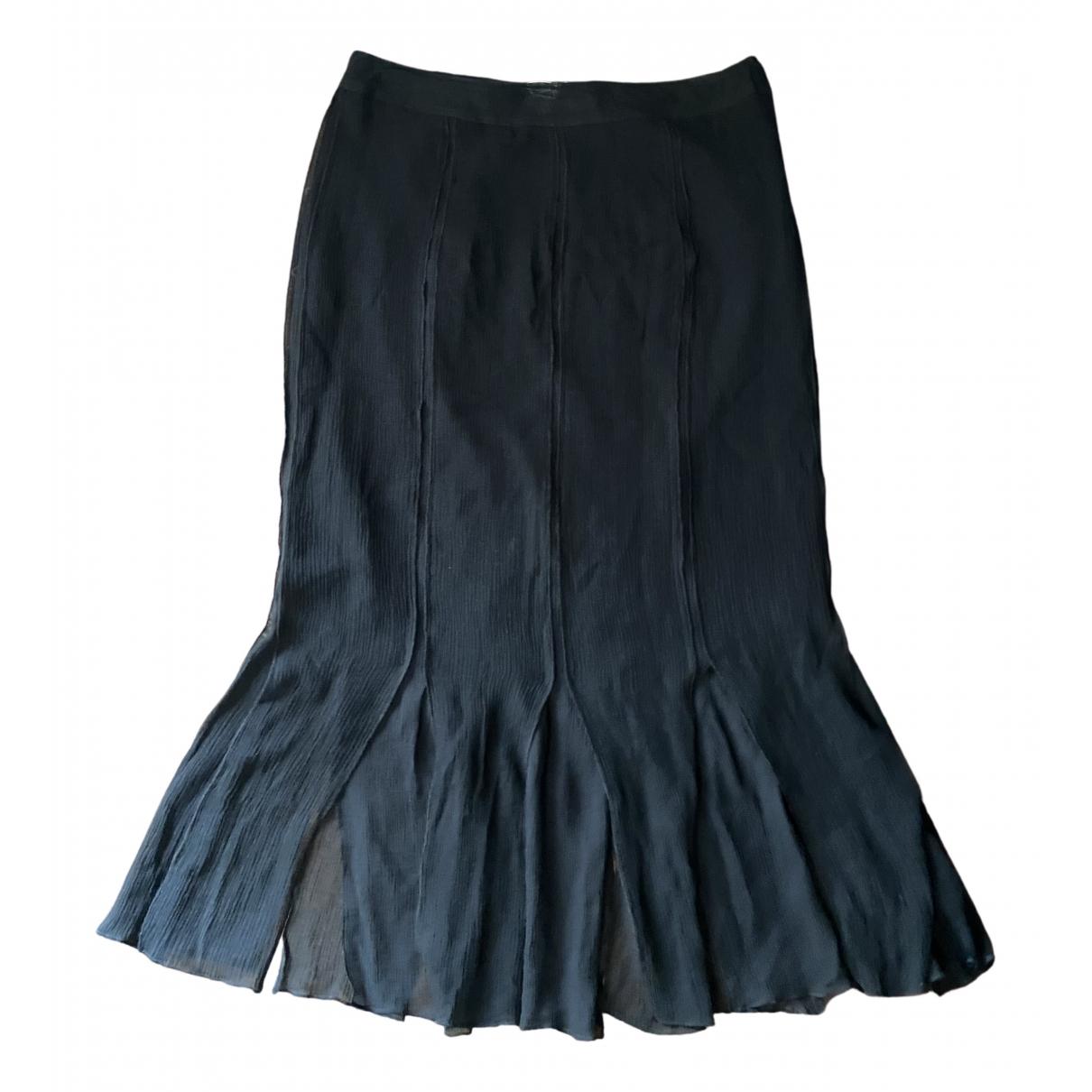 Krizia - Jupe   pour femme en soie - noir