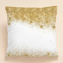 Glitter Pattern Cushion Cover Without Filler