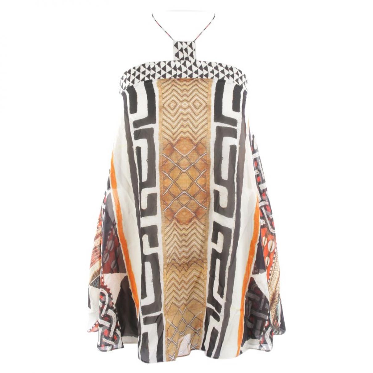 Camilla - Top   pour femme en soie - multicolore
