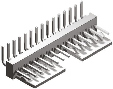 Molex , KK 254, 7395, 16 Way, 1 Row, Right Angle PCB Header (5)