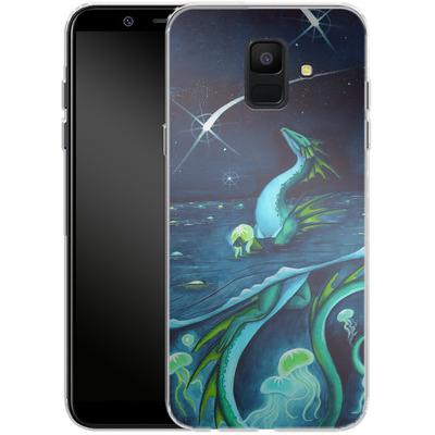 Samsung Galaxy A6 Silikon Handyhuelle - Carla Morrow - Sea of Stars von TATE and CO