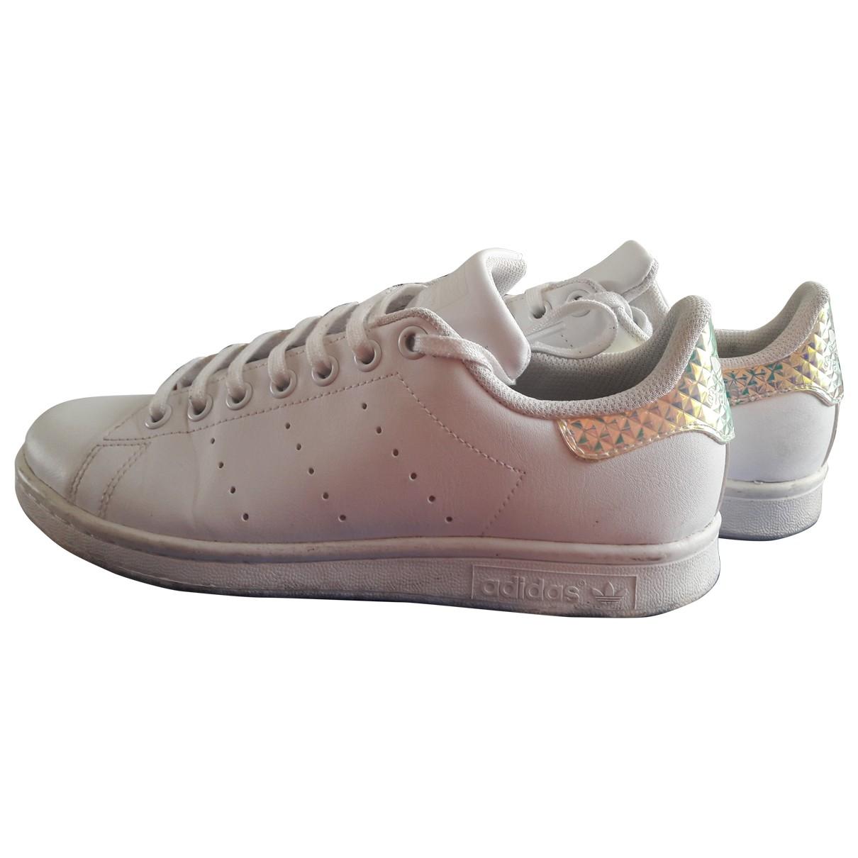 Adidas Stan Smith White Leather Trainers for Women 38 EU