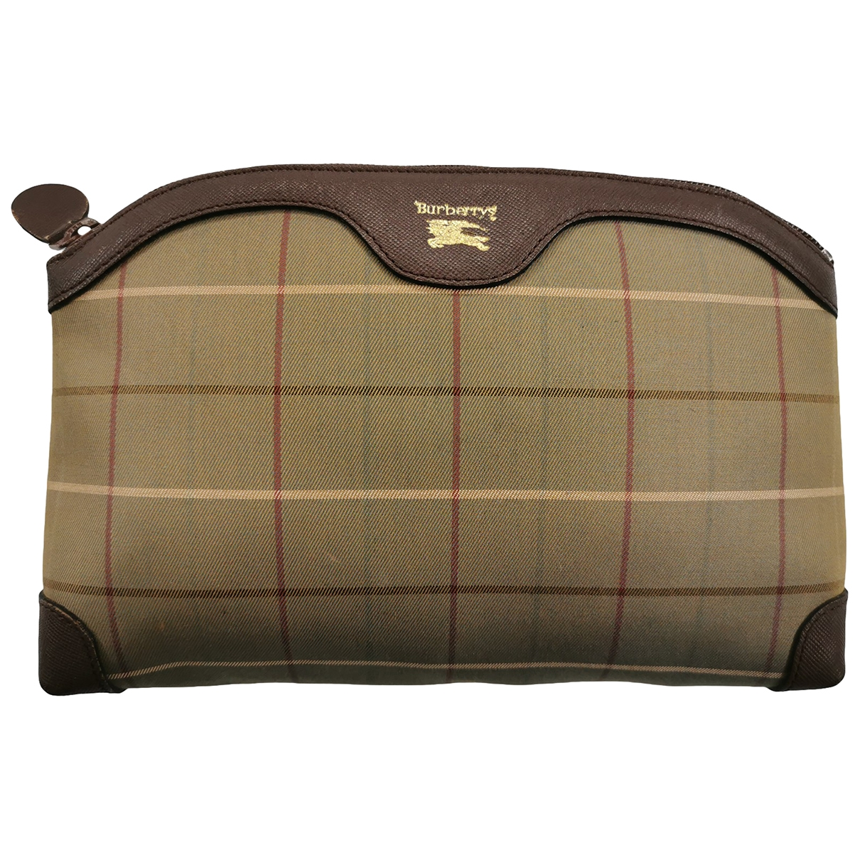 Burberry \N Beige Cloth Travel bag for Women \N