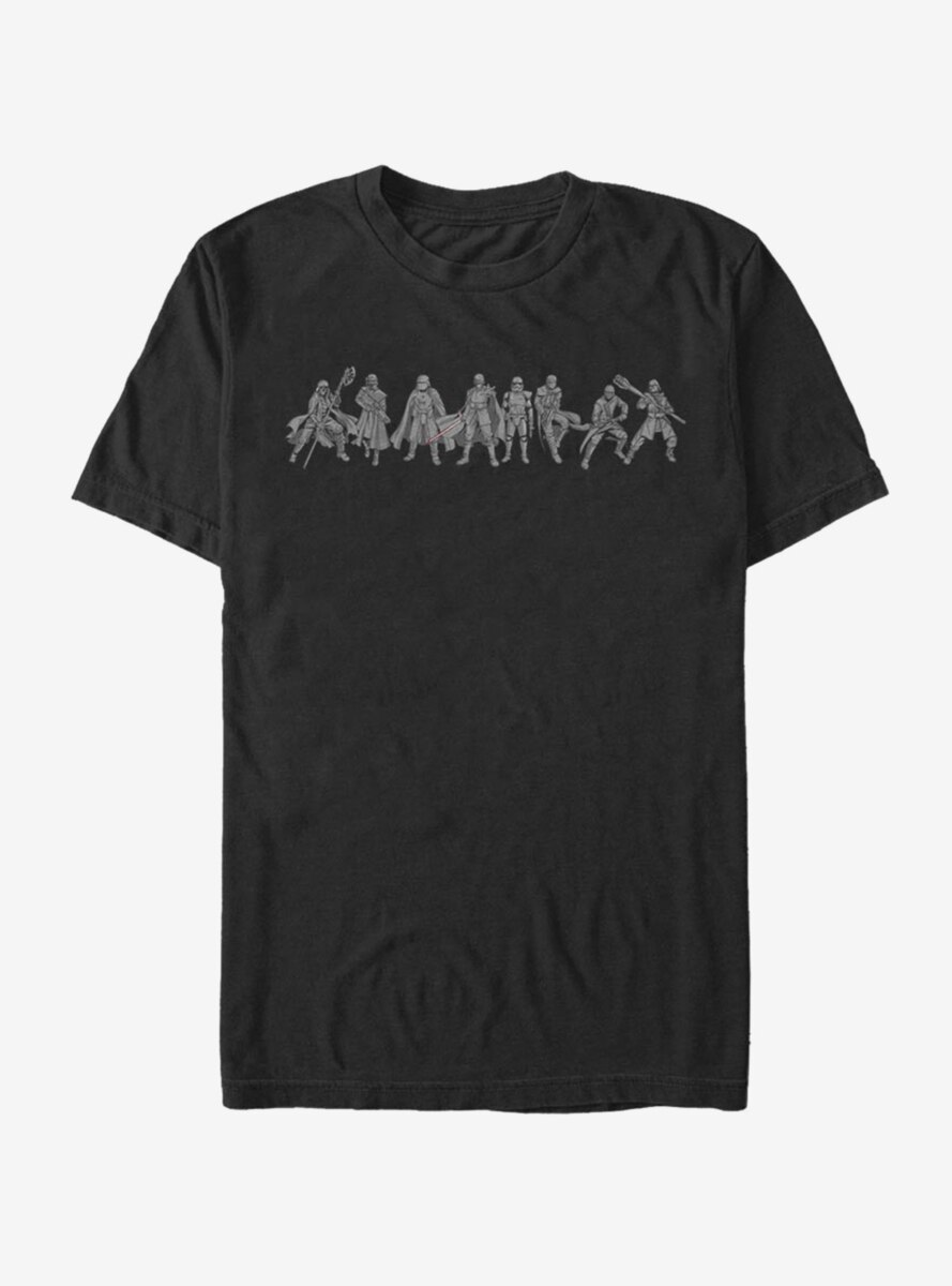 Star Wars Episode IX The Rise Of Skywalker New Order Lineup T-Shirt