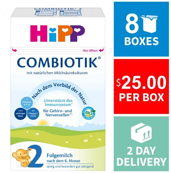 HiPP Organic Baby Formula 2   Wholesale   Bulk