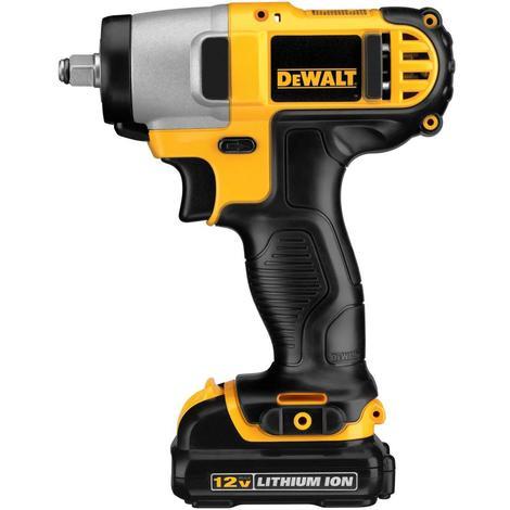 DeWalt 12 V MAX 3/8 In. Impact Wrench Kit