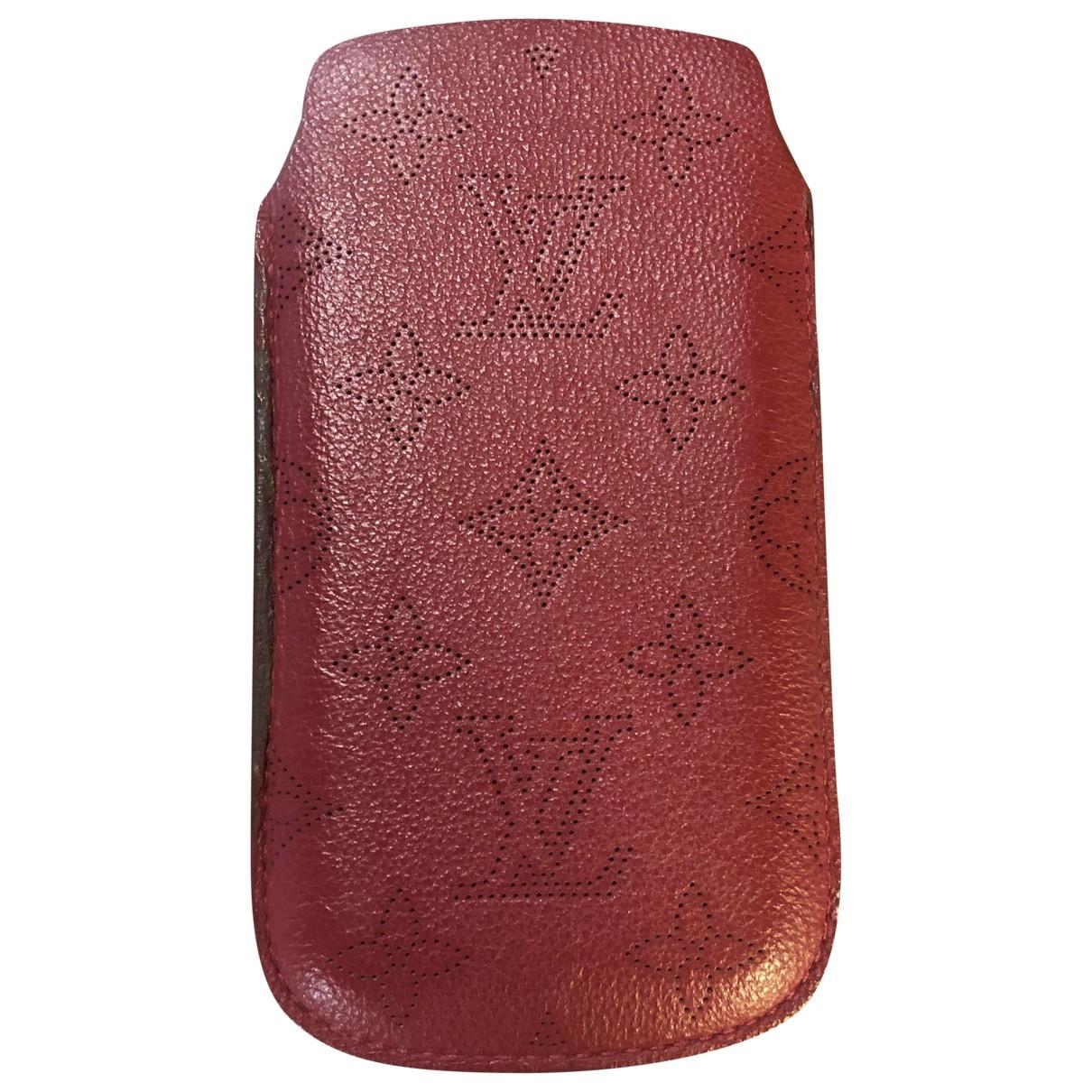 Louis Vuitton - Accessoires   pour lifestyle en cuir - rouge