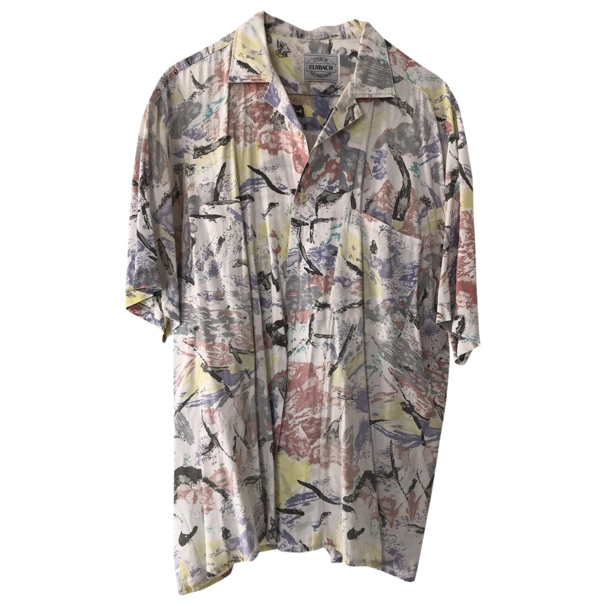 Non Signé / Unsigned Oversize White Cotton Shirts for Men M International
