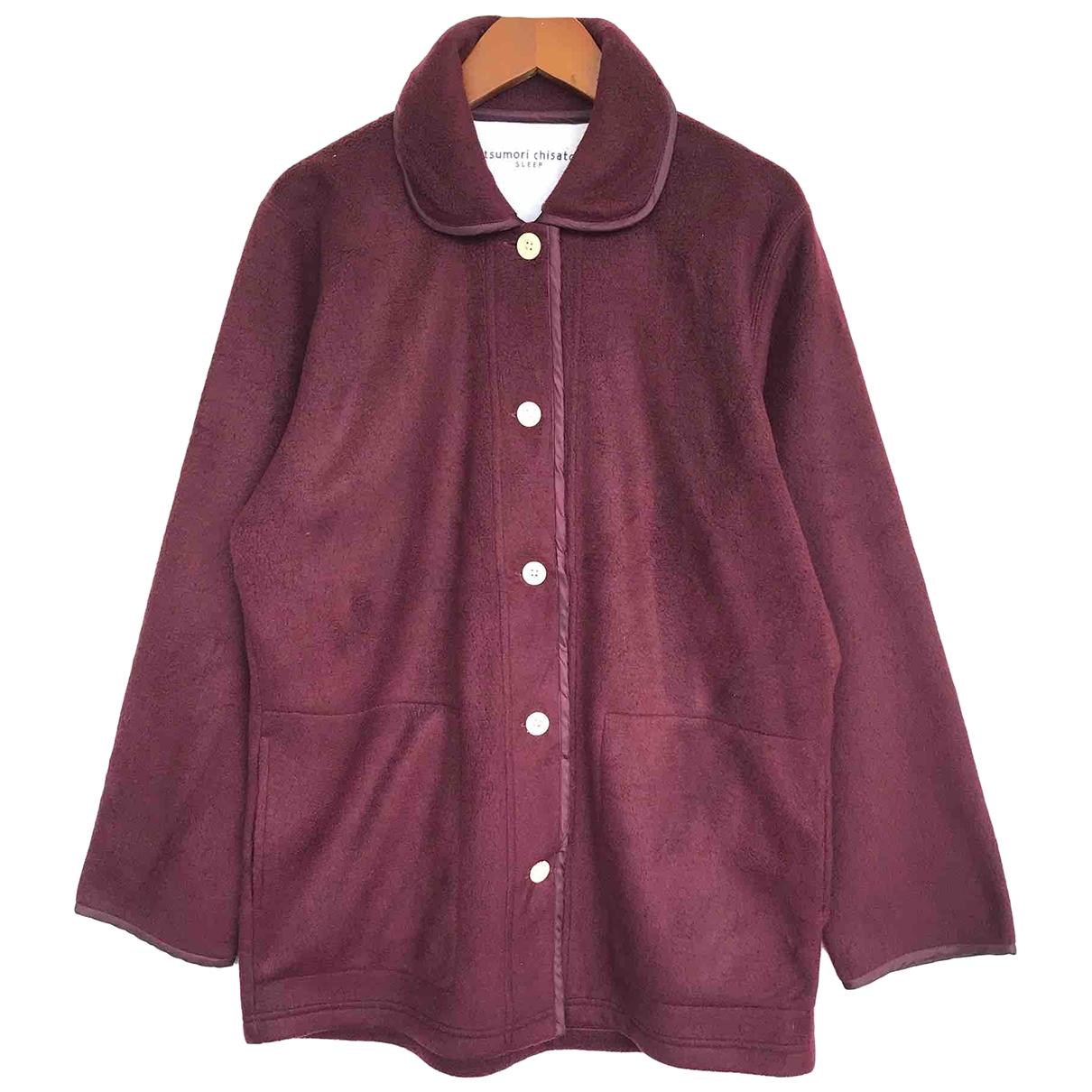 Tsumori Chisato \N Pullover.Westen.Sweatshirts  in  Rot Wolle