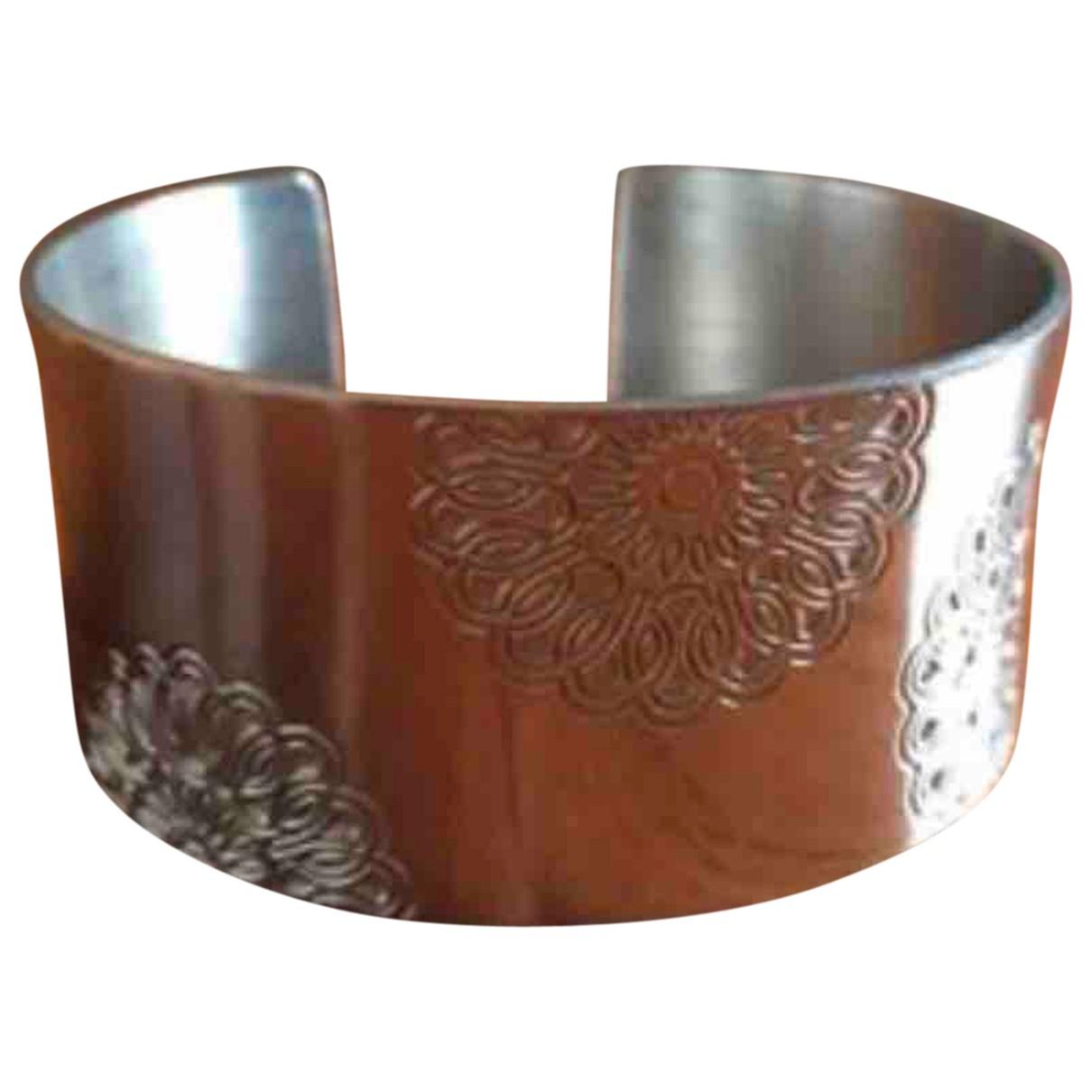 Ted Lapidus - Bracelet   pour femme en acier - argente