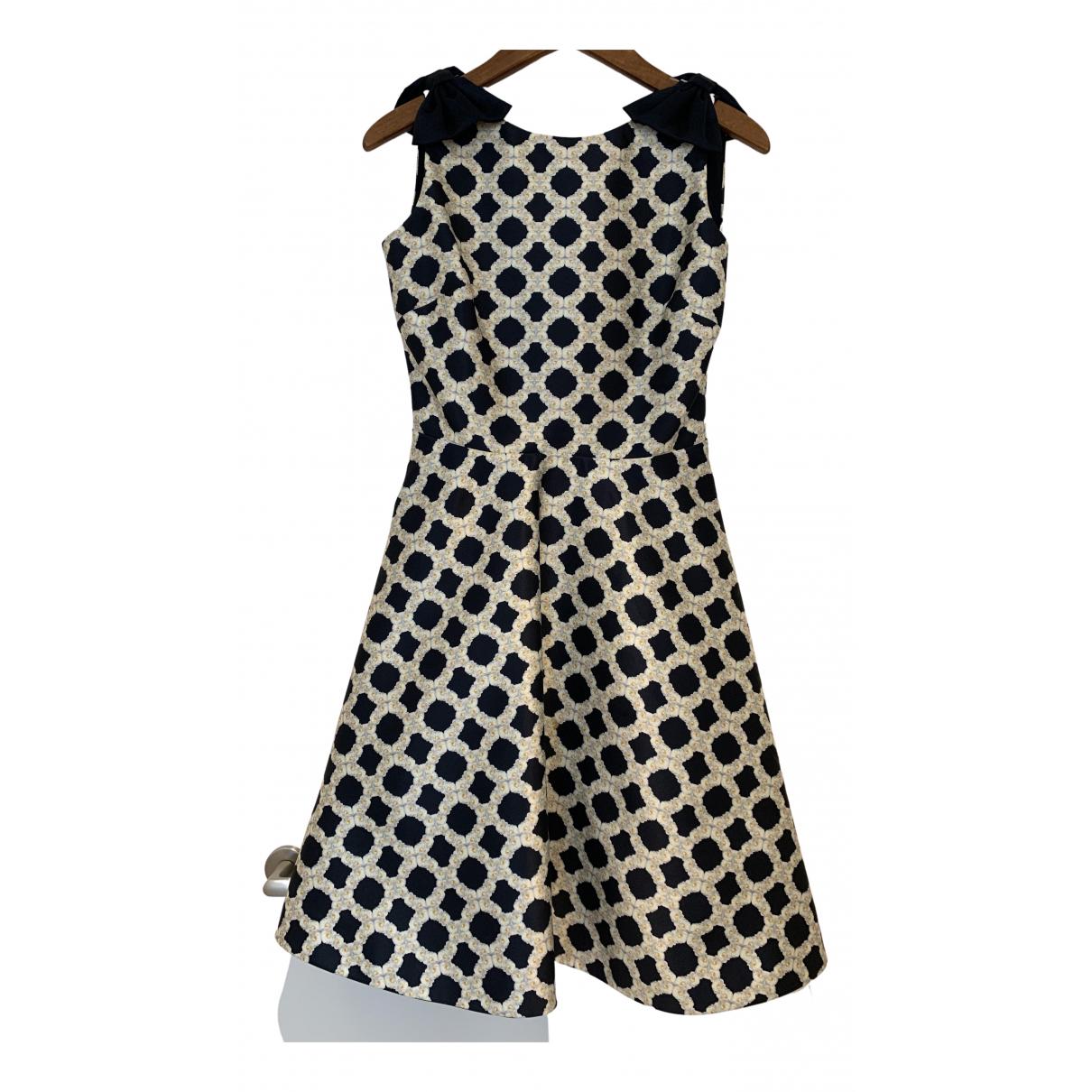 Ted Baker \N Kleid in  Marine Polyester