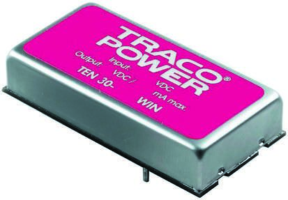 TRACOPOWER TEN 30WIN 30W Isolated DC-DC Converter Through Hole, Voltage in 36 → 75 V dc, Voltage out 5 V dc, ±15