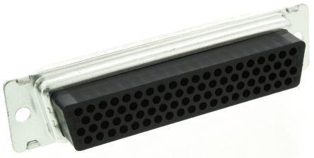 TE Connectivity , AMPLIMITE HDP-22 Straight Crimp D-sub Connector, Plug, 78 Pin
