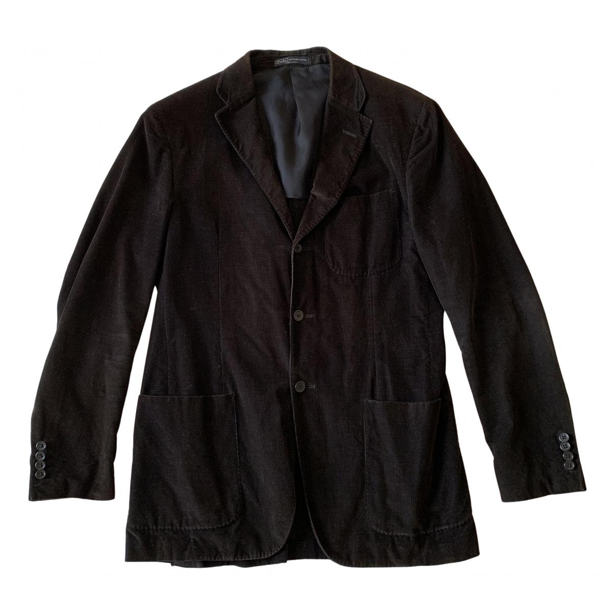 Polo Ralph Lauren N Brown Cotton jacket  for Men L International