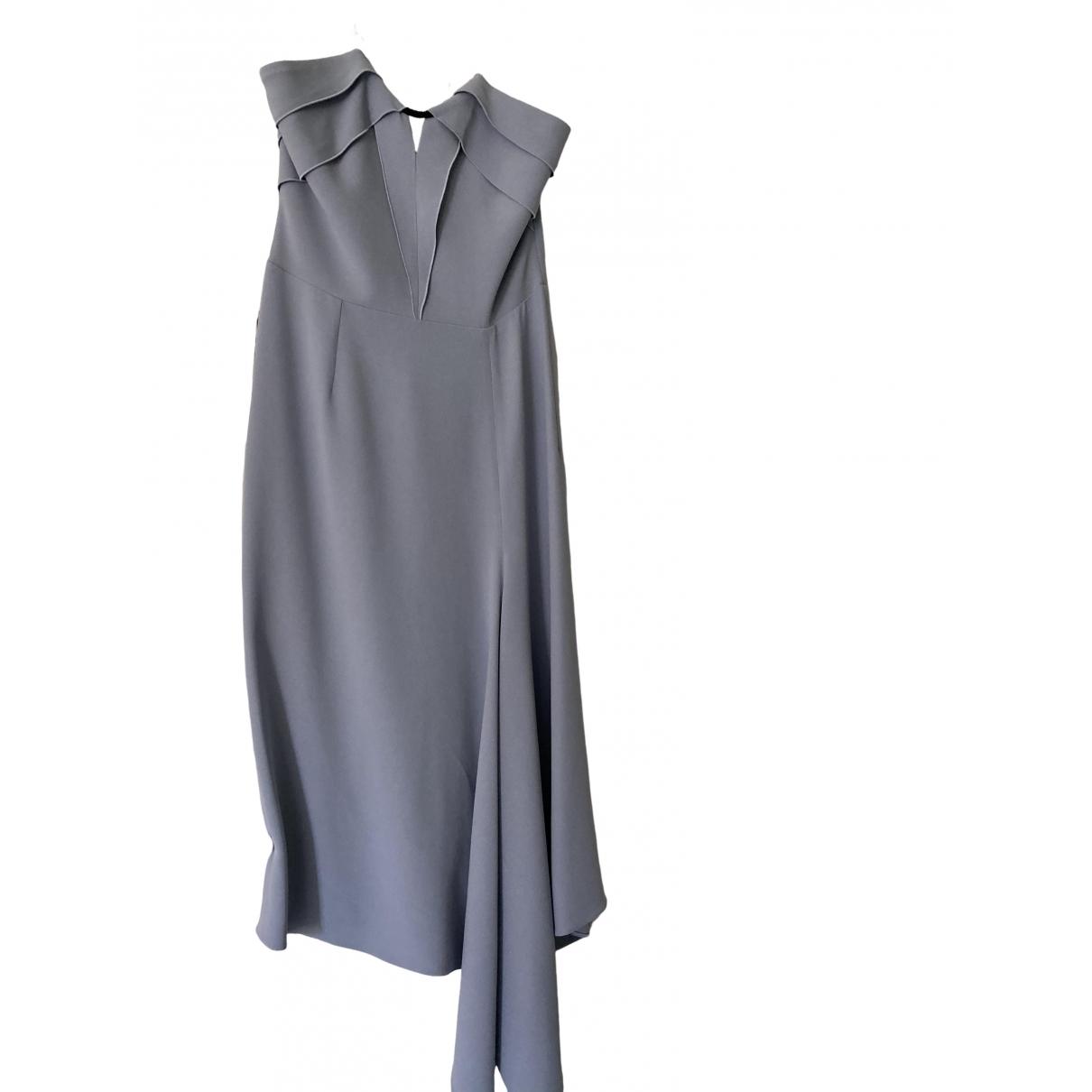 Roland Mouret \N Kleid in  Lila Viskose