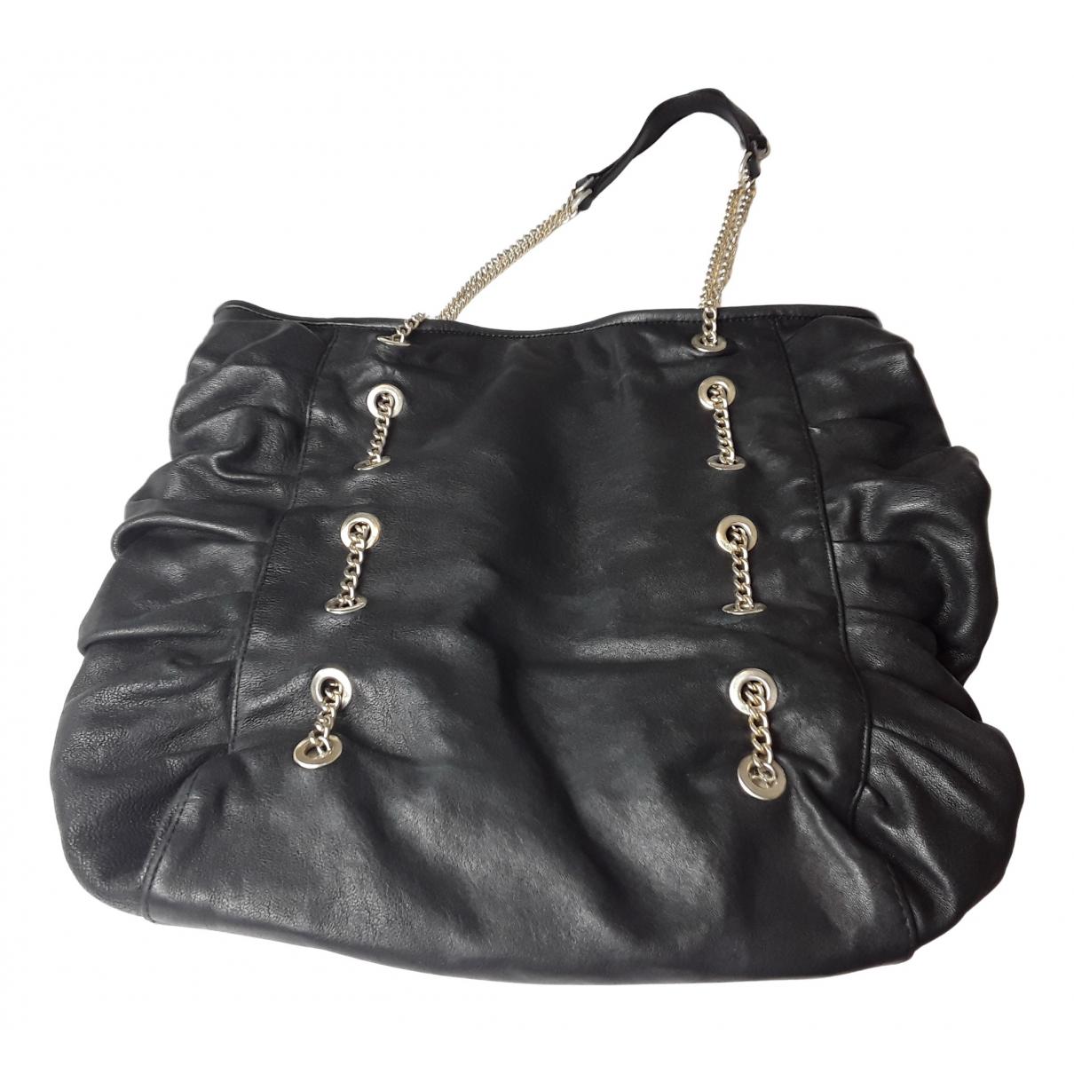 Red Valentino Garavani \N Handtasche in  Schwarz Leder