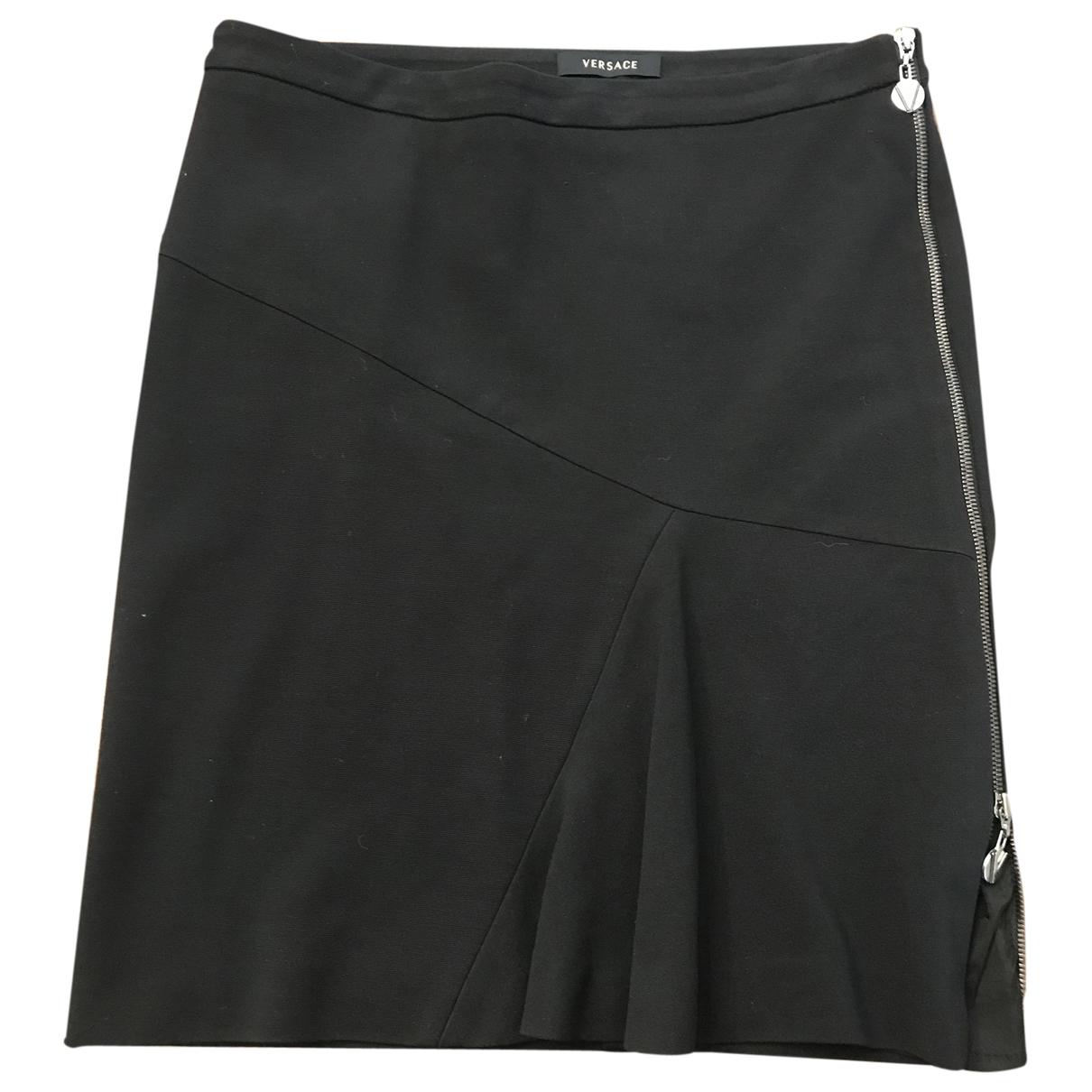 Versace \N Black skirt for Women 44 IT