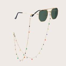 Rhinestone Charm Glasses Chain