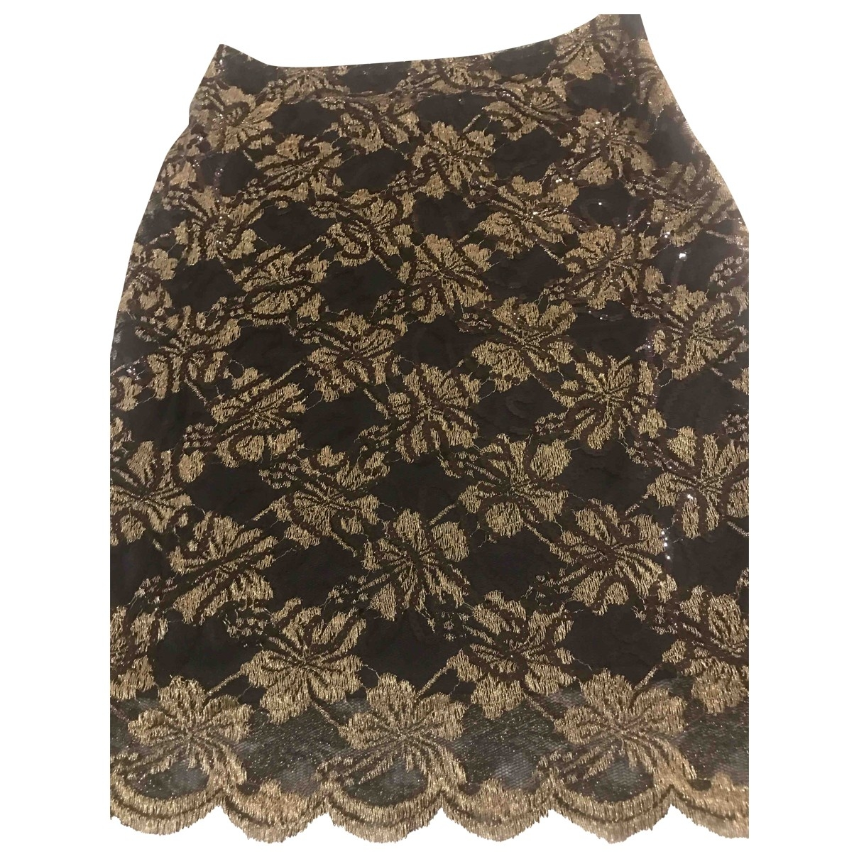 Non Signé / Unsigned \N Black skirt for Women 40 IT