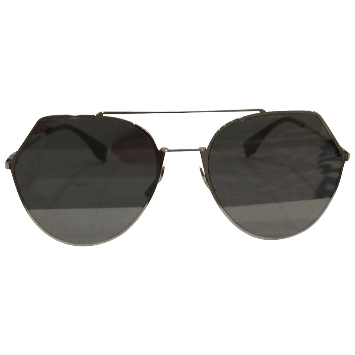 Fendi N Silver Metal Sunglasses for Women N