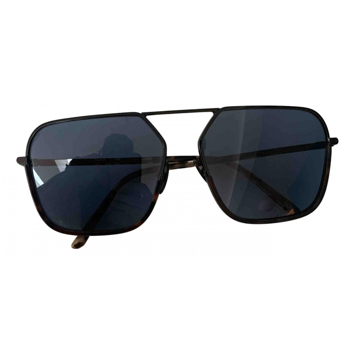 Dolce & Gabbana N Black Metal Sunglasses for Women N