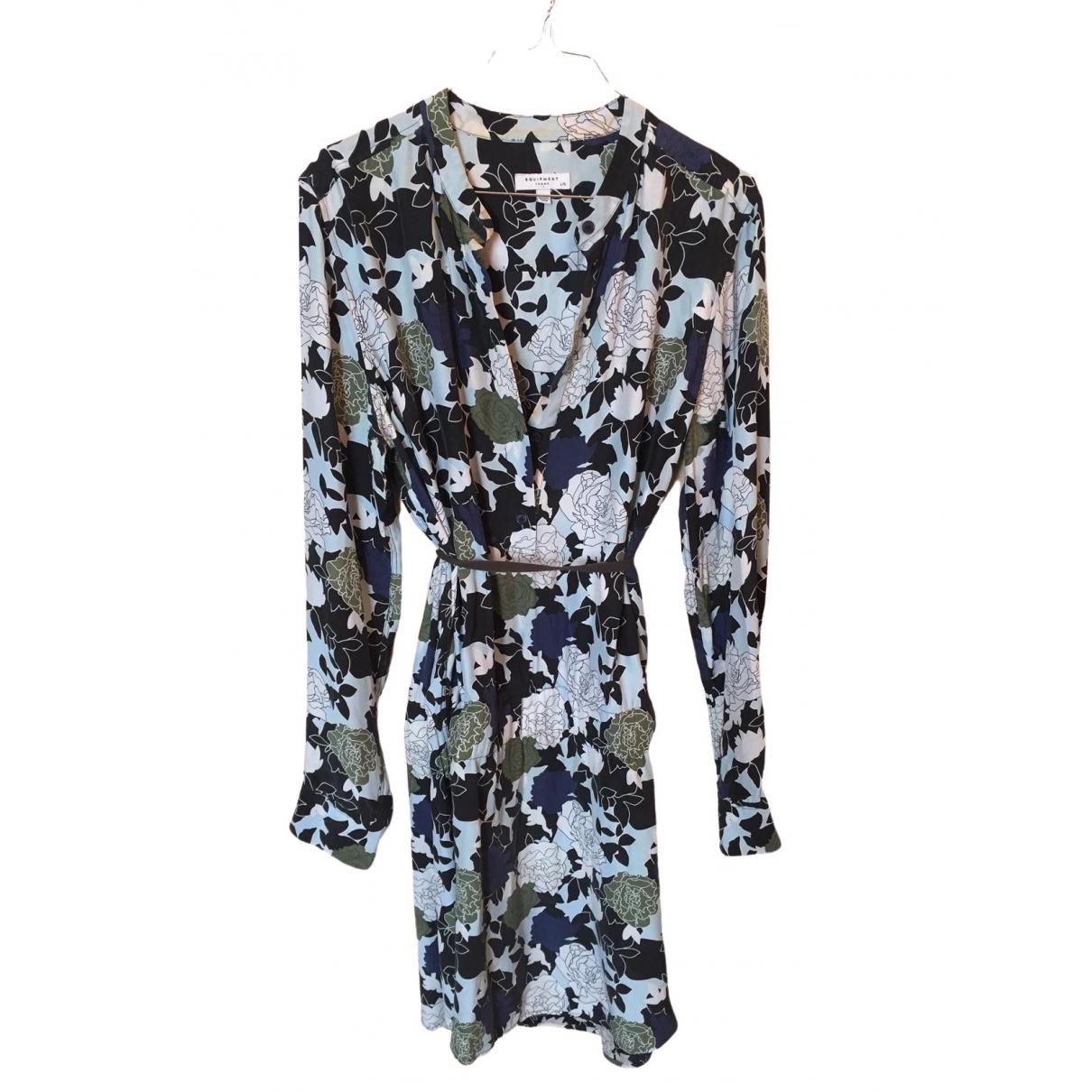 Equipment \N Multicolour Silk dress for Women L International