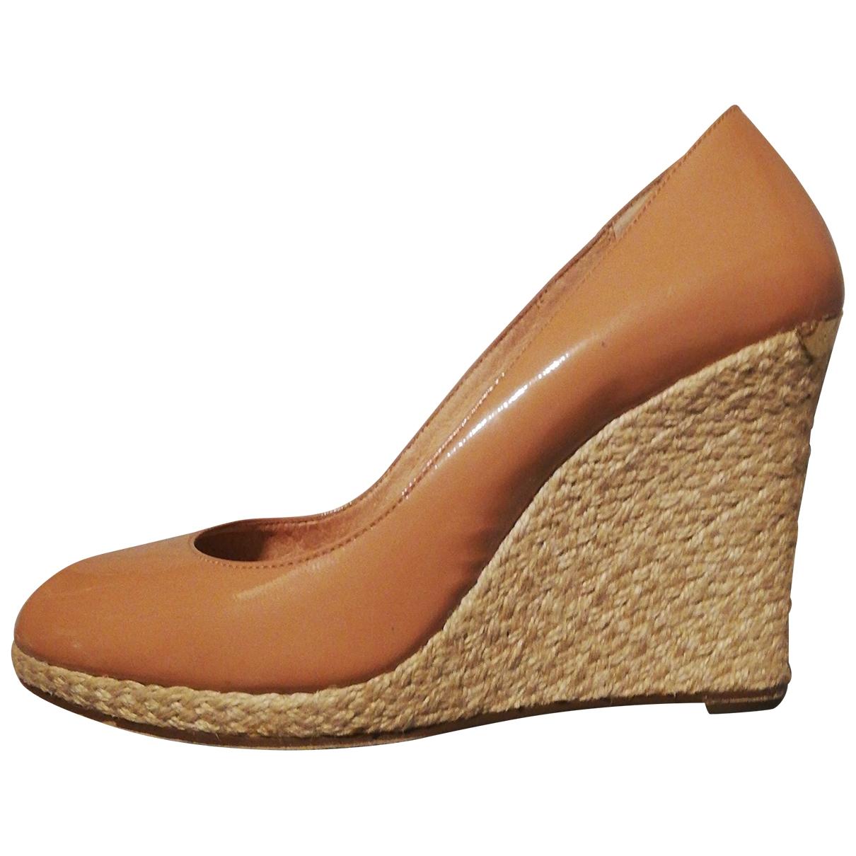 Michael Kors \N Pink Patent leather Espadrilles for Women 38 EU
