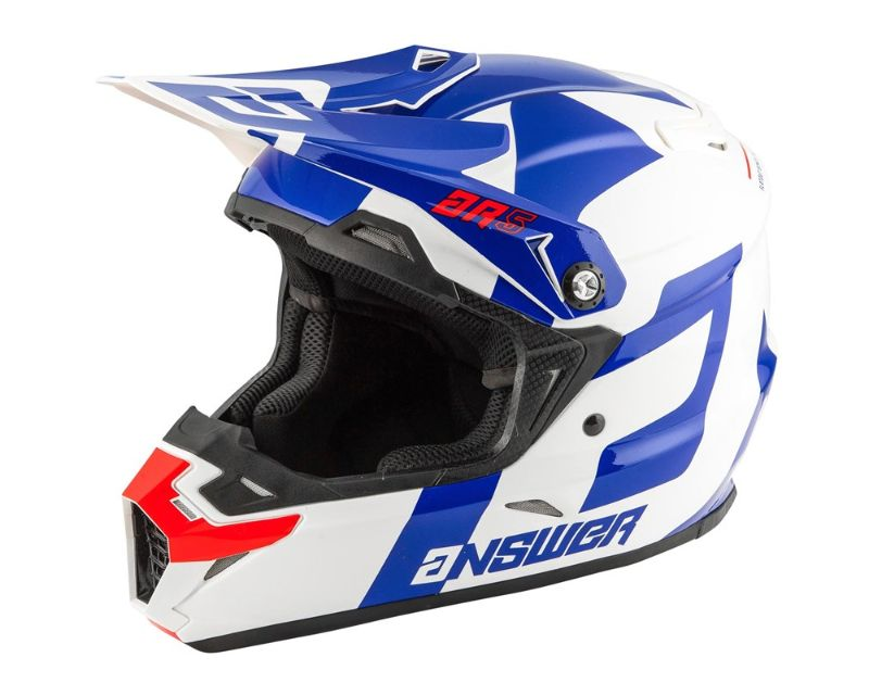 Answer 444405 AR5 Voyd Helmet Reflex White Red LG