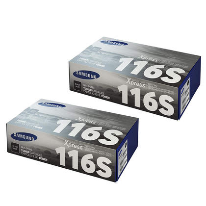 Samsung MLT-D116S Original Black Toner Cartridge Twin Pack
