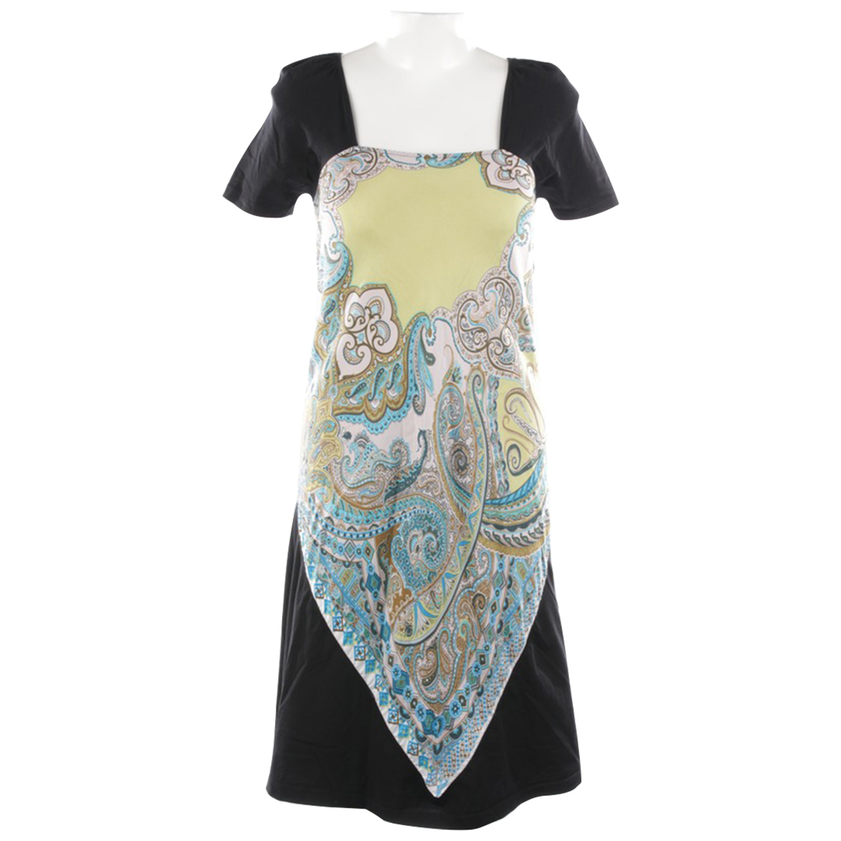 Etro \N Multicolour Cotton dress for Women 36 FR