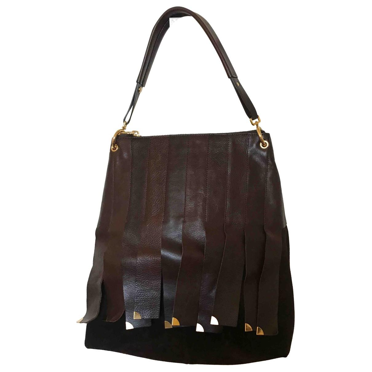Orciani \N Brown Leather handbag for Women \N