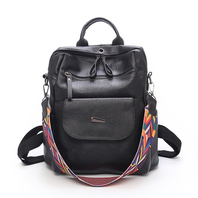 Ericdress Thread Plain PU Backpacks