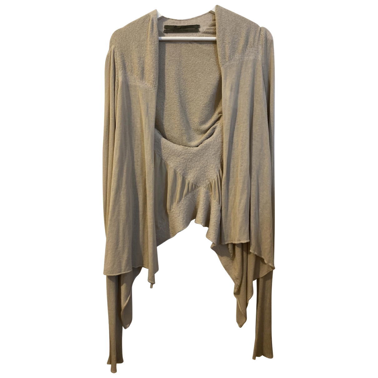 Rick Owens N Beige Cotton Knitwear & Sweatshirts for Men L International