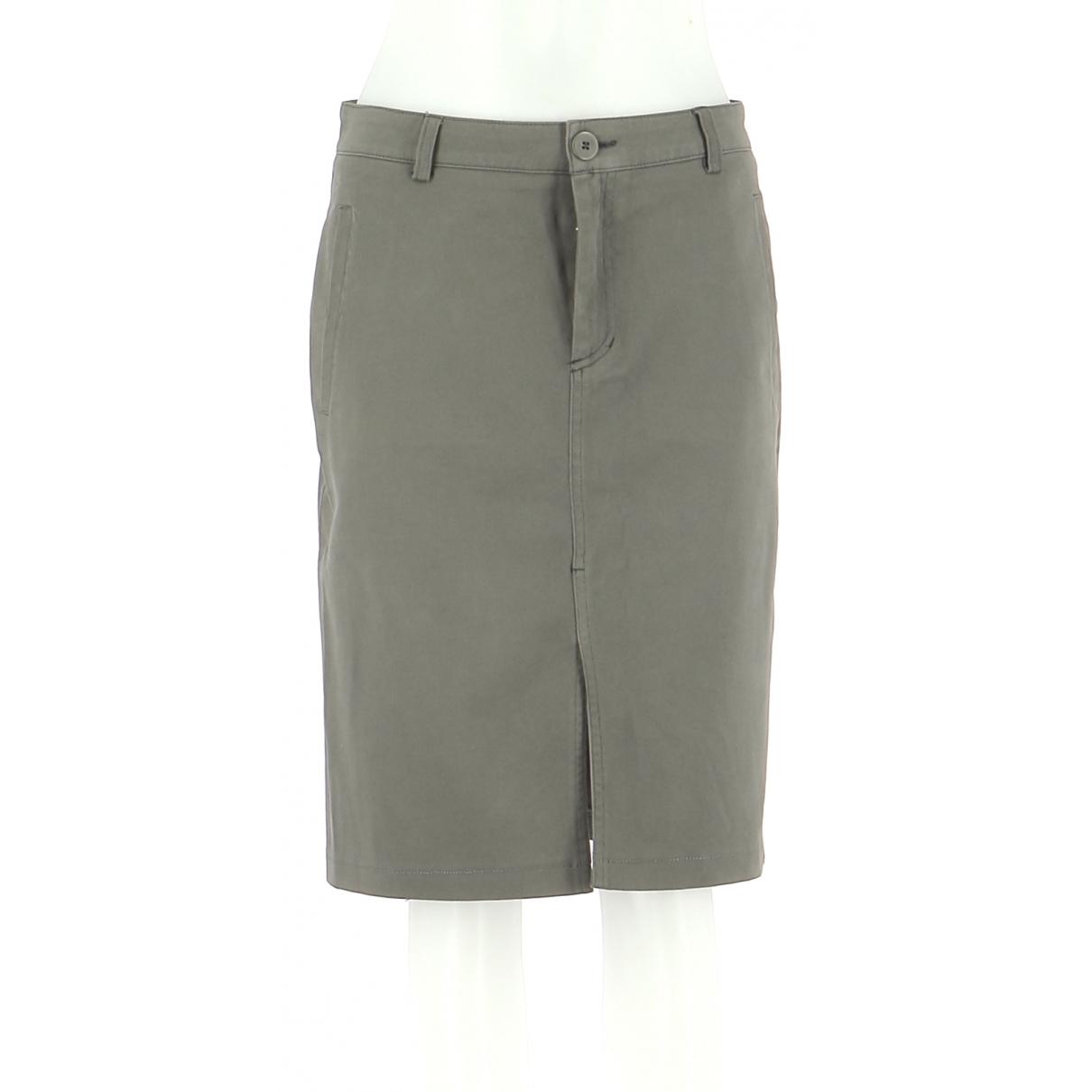 Burberry - Jupe   pour femme en coton - gris