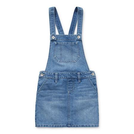 Squeeze Big Girls Skirtalls, 12 , Blue