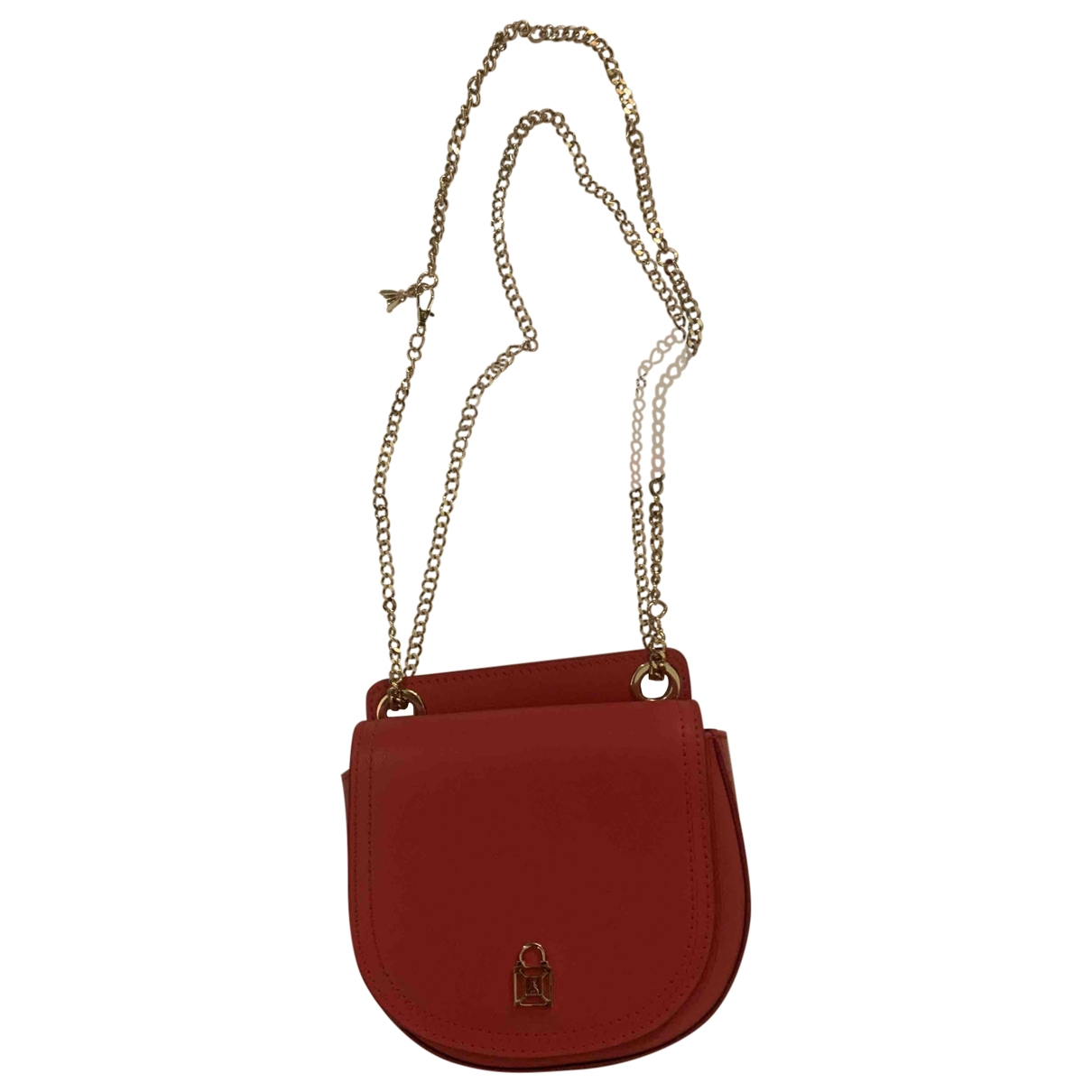 Patrizia Pepe \N Red Leather Clutch bag for Women \N