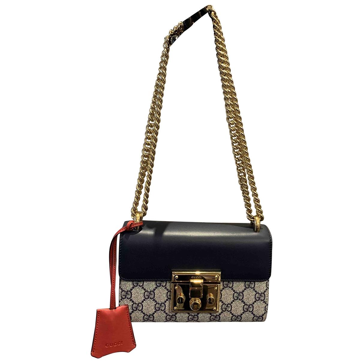 Gucci Padlock Beige Cloth handbag for Women \N