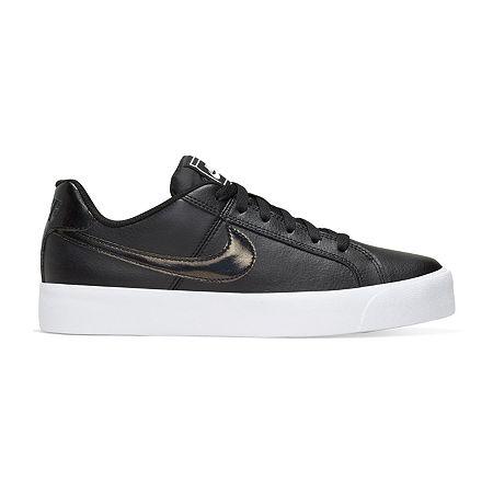 Nike Court Royale AC Womens Sneakers, 6 1/2 Medium, Black