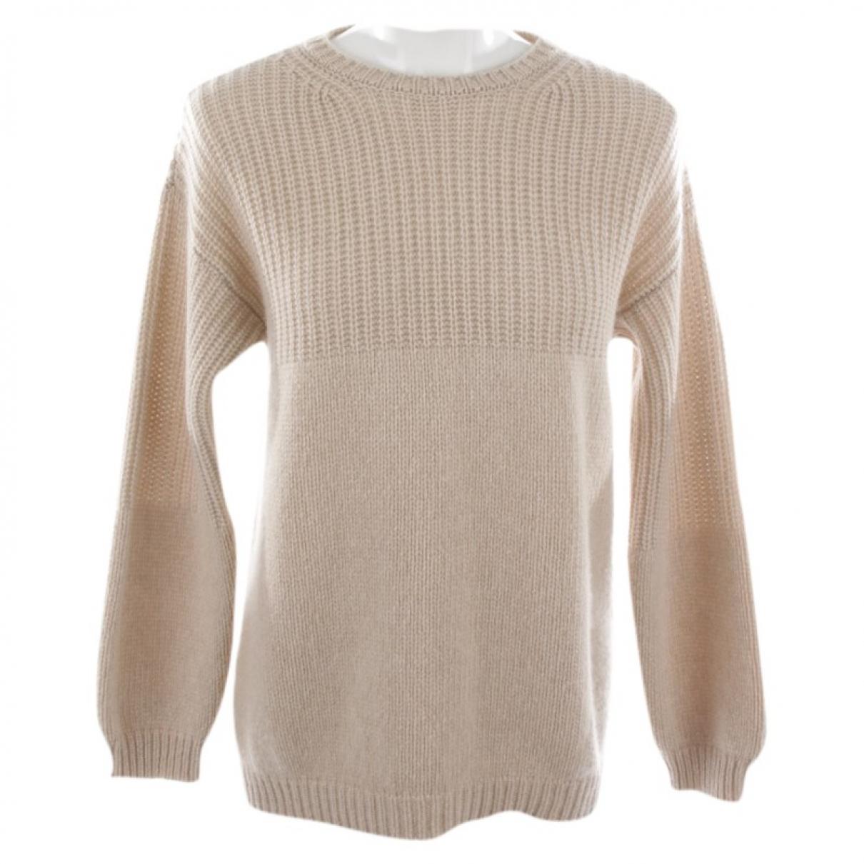 Autre Marque \N Beige Cashmere Knitwear for Women 36 FR