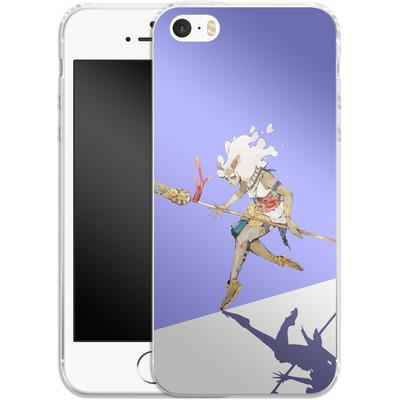 Apple iPhone SE Silikon Handyhuelle - Basutetta von Boell Oyino