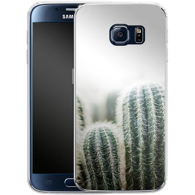 Samsung Galaxy S6 Silikon Handyhuelle - Cactus 1 von Mareike Bohmer