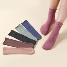 6pairs Colorful Slouchy Socks